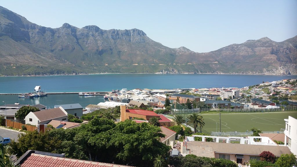 The view from Denis Gildberg's house in Hout Bay Cape Town